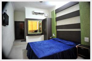 Semi Deluxe Non Ganga Facing Rooms